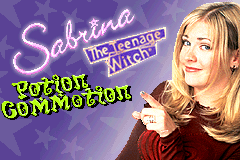 Sabrina - The Teenage Witch - Potion Commotion [Model AGB-A3BP] screenshot