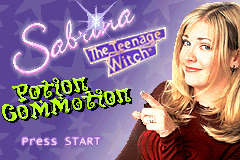 Sabrina - The Teenage Witch - Potion Commotion [Model AGB-A3BE-USA] screenshot