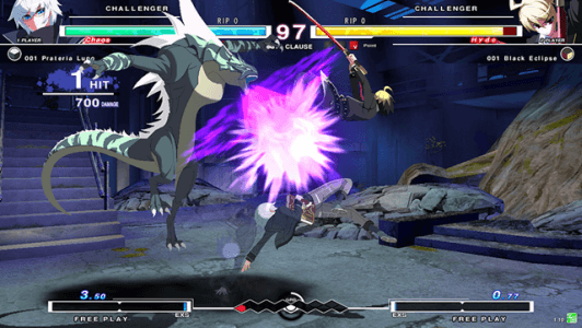 Under Night In-Birth Exe: Late screenshot