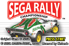 Sega Rally Championship [Model AGB-AYLP] screenshot