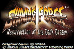 Shining Force - Resurrection of the Dark Dragon [Model AGB-AF5E-USA] screenshot