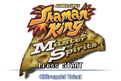 Shonen Jump's Shaman King - Master of Spirits [Model AGB-BSOP] screenshot