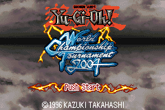 Shonen Jump's Yu-Gi-Oh! World Championship Tournament 2004 [Model AGB-BYWE-USA] screenshot