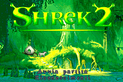 Shrek 2 [Model AGB-BSEX-EUR] screenshot