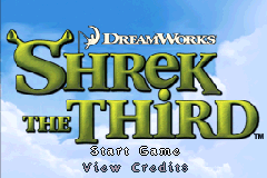 Shrek the Third [Model AGB-B3HE-USA] screenshot