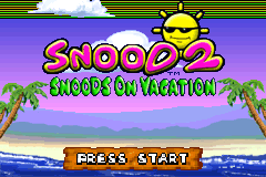 Snood 2 - On Vacation [Model AGB-B2VE-USA] screenshot