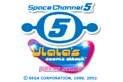 Space Channel 5 - Ulala's Cosmic Attack [Model AGB-A5UP] screenshot