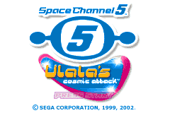 Space Channel 5 - Ulala's Cosmic Attack [Model AGB-A5UE-USA] screenshot