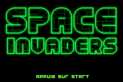 Space Invaders [Model AGB-AIDP] screenshot