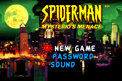 Spider-Man - Mysterio's Menace [Model AGB-ASEE-USA] screenshot