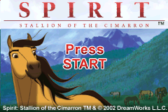 Spirit - Stallion of the Cimarron [Model AGB-AC6E-USA] screenshot