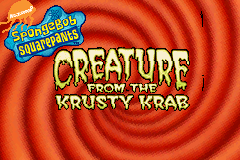 SpongeBob SquarePants - Creature from the Krusty Krab [Model AGB-BO4P] screenshot