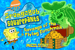 SpongeBob SquarePants - Revenge of the Flying Dutchman [Model AGB-AQ3E-USA] screenshot