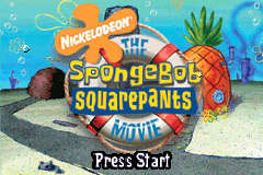 SpongeBob SquarePants - The Movie [Model AGB-BSNE-USA] screenshot