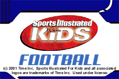 Sports Illustrated for Kids - Football [Model AGB-AKFE-USA] screenshot