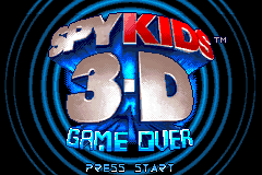 Spy Kids 3-D - Game Over [Model AGB-AV3E-USA] screenshot