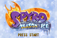 Spyro - Season of Ice [Model AGB-ASYE-USA] screenshot