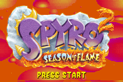 Spyro 2 - Season of Flame [Model AGB-A2SP] screenshot