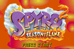 Spyro 2 - Season of Flame [Model AGB-A2SE-USA] screenshot