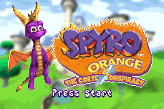 Spyro Orange - The Cortex Conspiracy [Model AGB-BSTE-USA] screenshot