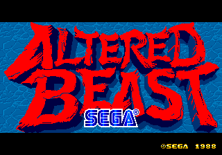 Altered Beast [Model 317-0066] screenshot
