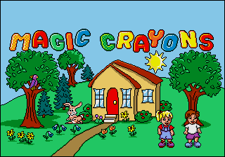 Magic Crayons [Model 49026-00] screenshot