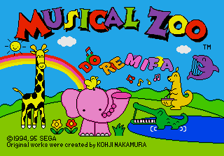 Musical Zoo screenshot