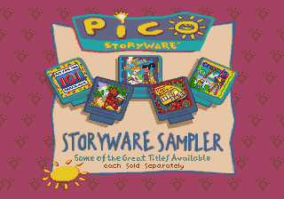 Pico Storyware Sampler screenshot