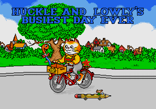 Richard Scarry's - Huckle and Lowly's Busiest Day Ever [Model 49028-00] screenshot