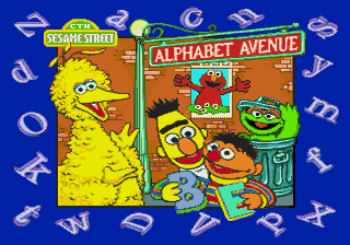 Sesame Street - Alphabet Avenue [Model 49067-00] screenshot
