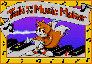 Tails and the Music Maker [Model 49023-00] screenshot
