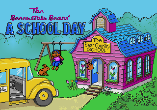 The Berenstain Bears' A School Day [Model 49036-00] screenshot