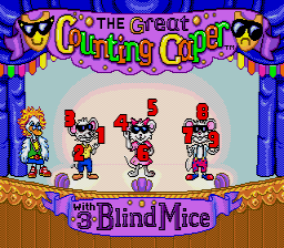 The Great Counting Caper with The 3 Blind Mice [Model T-182011-00] screenshot