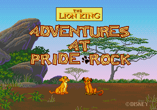 The Lion King - Adventure at Pride Rock [Model 49037-00] screenshot