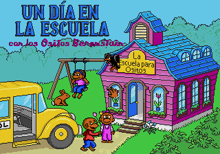 Un Día en la Escuela con los Ositos Berenstain [Model 49036-06] screenshot