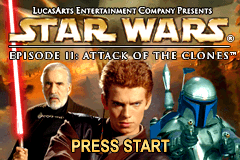 Star Wars - Episode II - Attack of the Clones [Model AGB-AS2E-USA] screenshot