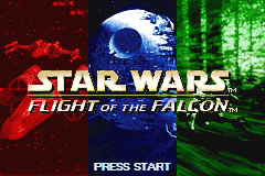 Star Wars - Flight of the Falcon [Model AGB-BSWE-USA] screenshot
