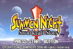 Summon Night - Swordcraft Story [Model AGB-AB4E-USA] screenshot
