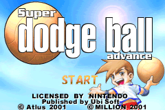 Super Dodge Ball Advance [Model AGB-ADFP] screenshot