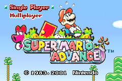 Super Mario Advance [Model AGB-AMAE-USA] screenshot
