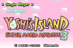 Super Mario Advance 3 - Yoshi's Island [Model AGB-A3AP-EUR] screenshot