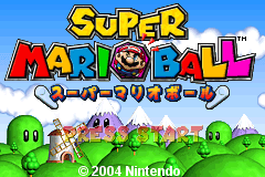 Super Mario Ball [Model AGB-BMVJ-JPN] screenshot