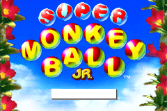 Super Monkey Ball Jr. [Model AGB-ALUP] screenshot