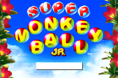 Super Monkey Ball Jr. [Model AGB-ALUE-USA] screenshot