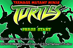 Teenage Mutant Ninja Turtles [Model AGB-BNTE-USA] screenshot