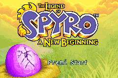 The Legend of Spyro - A New Beginning [Model AGB-B3YP] screenshot