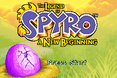 The Legend of Spyro - A New Beginning [Model AGB-B3YE-USA] screenshot