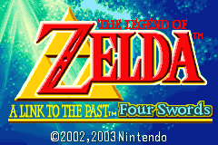 The Legend of Zelda - A Link to the Past & Four Swords [Model AGB-ALP] screenshot