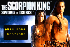 The Scorpion King - Sword of Osiris [Model AGB-ASZE-USA] screenshot