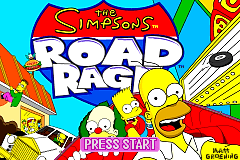 The Simpsons - Road Rage [Model AGB-A4AE-USA] screenshot